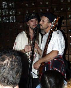 фото Константина Хошаны. Тель-Авив, клуб ''Барби'', ноябрь 2001