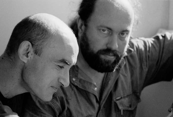 Сергей Ватаву и Сергей Суворов. Фото Ольги Арефьевой 2004
