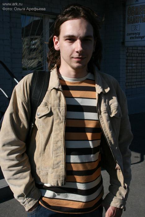 Антон Лукьянчук (барабаны) сентябрь 2007. Фото Ольги Арефьевой