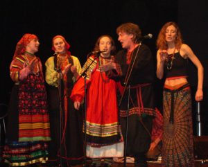 Ольга Арефьева и «Ковчег». Москва, Goldenmask.Club, 31 марта 2006. Фото Ирины Шуваловой