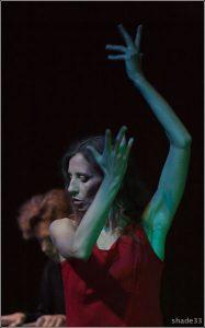 Ольга Арефьева и «Ковчег». Фото с концерта акустики в ЦДХ 21 сентября 2007.  Фото shade33