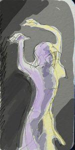 """Ольга Арефьева и «Ковчег». Фотографии с электрического концерта в клубе """"Точка"""" 7 августа 2009. Зарисовки Марины Бородиной"""