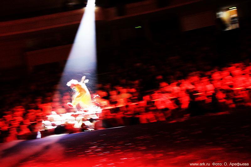 """Фото Ольги Арефьевой. Фотографии со """"сНежного шоу"""" Вячеслава Полунина (Москва, февраль 2010)"""