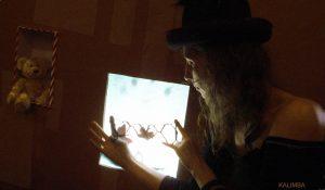 "KALIMBA на съемках клипа на песню Ольги Арефьевой ""Борода"", июль 2010. Фото KALIMBA"