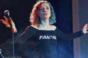 Ольга Арефьева и «Ковчег». Фотографии с электрического концерта в Киеве 6 ноября 2010.  Фото Юрия Тугушева