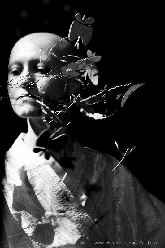 Ольга Арефьева и «Ковчег». Фотографии с Новогоднего акустического концерта в ЦДХ (Москва) 25 декабря 2010. Фото Нины Графовой.