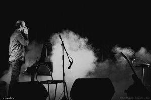 Фотографии с концерта в Иркутске 30 августа 2012. Ольга Арефьева и Петр Акимов, программа «Анатомия».  Фото Артема Моисеева