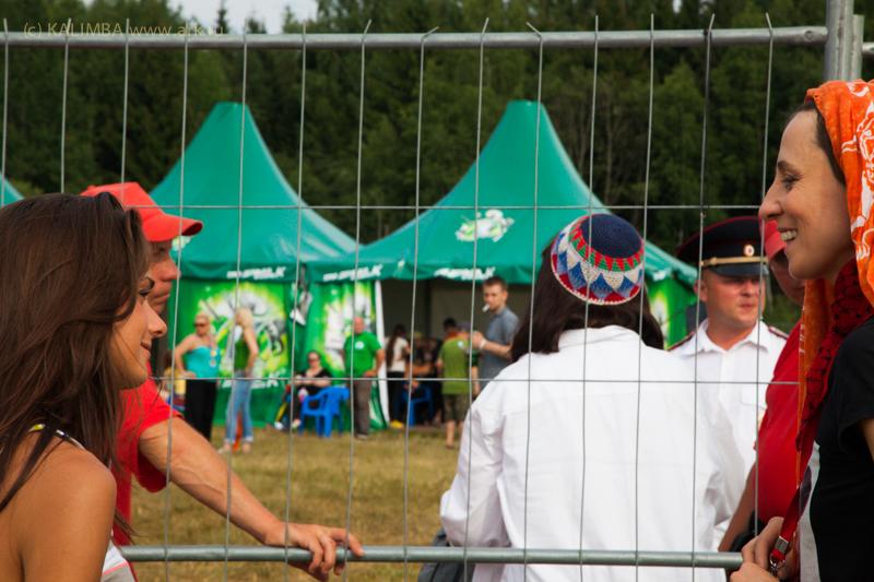 """Фотографии с фестиваля """"Нашествие"""" 7 июля 2013.  Фото KALIMBA."""