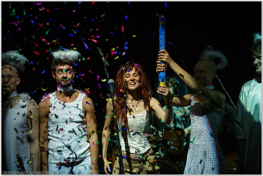 Фотографии с концерта в ЦДХ 21 сентября 2013 — презентации альбома «Театр».  Фото Николая Угольникова