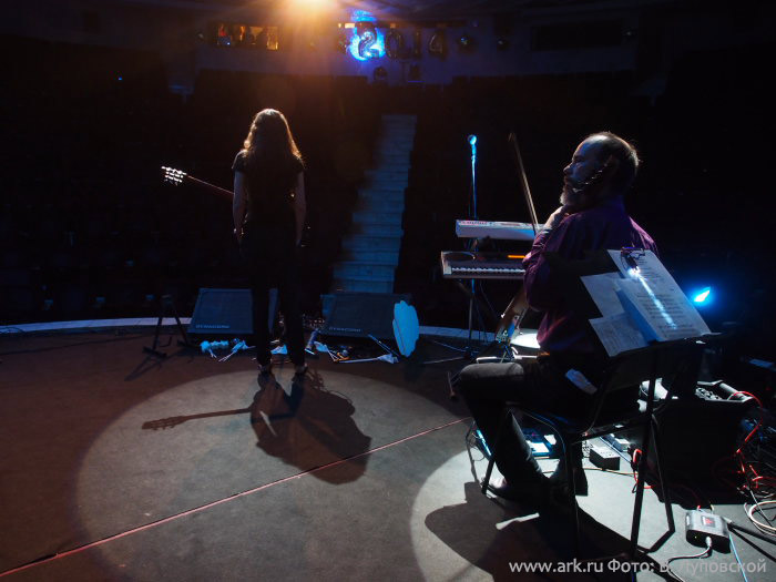 Фотографии с новогоднего концерта в ЦДХ 29 декабря 2013. Фото Владимира Луповского.