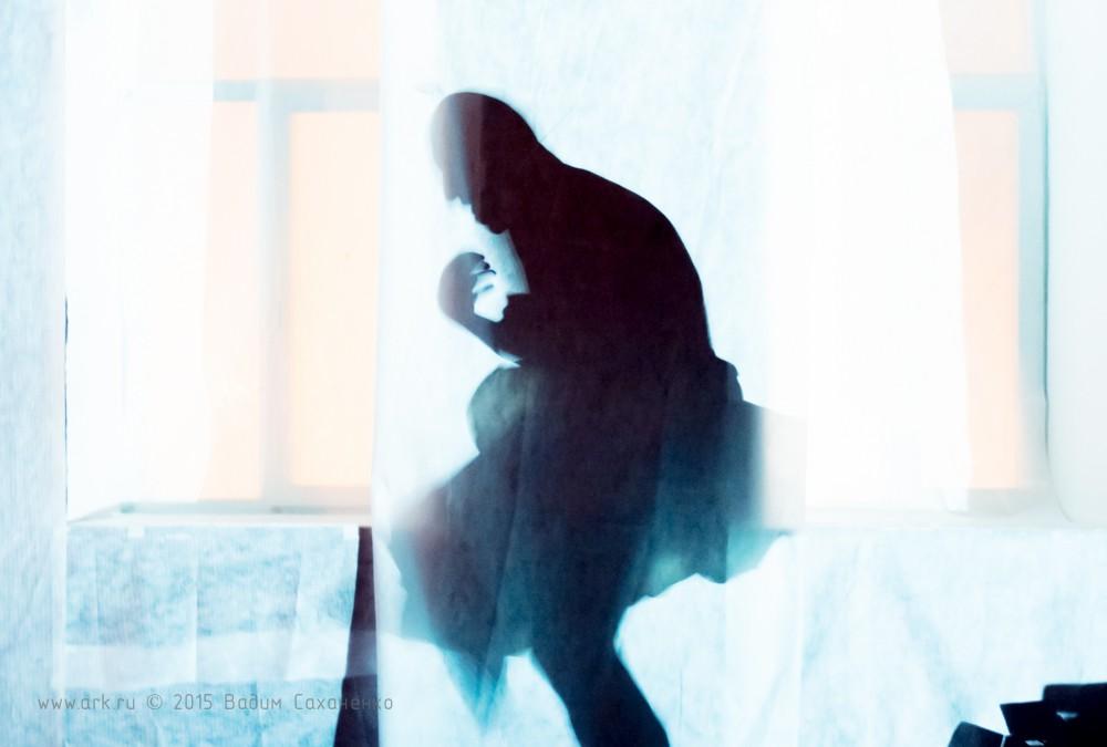 Спектакль ''Приключения в романе'' по книге Ольги Арефьевой. Арт-клуб FreeLabs (Москва) 22 февраля 2015. Фото: Вадим Саханенко