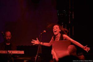 Ольга Арефьева и Ковчег - концерт в Ижевске 15 марта 2015. Фото Романа Рябова.