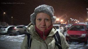 Лена Калагина, Москва, февраль 2015. Фото: Ольга Арефьева