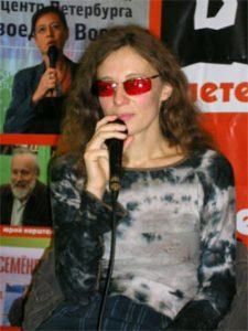 Ольга Арефьева на встрече с читателями