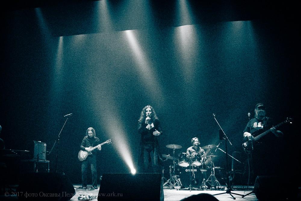 Ольга Арефьева и Ковчег. Екатеринбург 22 апреля 2017. Фото: Оксана Пелегова