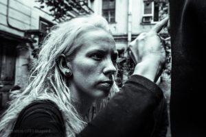 """Съёмки клипа Ольги Арефьевой """"Боль"""". Некая Элис"""
