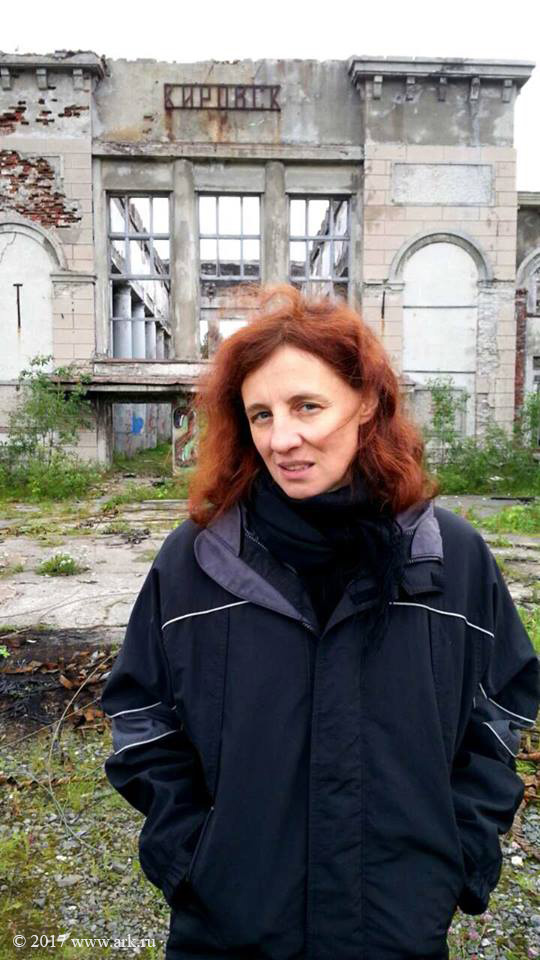 Ольга Арефьева в Кировске 26 августа 2017