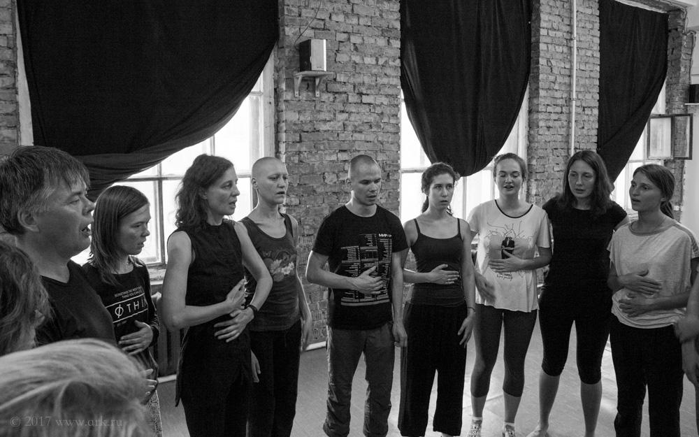 """Тренинг Ольги Арефьевой """"Голос и тело"""", 1 августа 2017, Санкт-Петербург"""