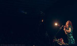 """Ольга Арефьева и """"Ковчег"""". Концерт в ЦДХ (Москва) 19 ноября 2017. Фото: Татьяна Трегубенко"""