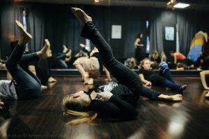 Творческий тренинг Ольги Арефьевой в Рязани, 3 февраля 2018. Фото:Катакеши Седин