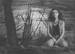 На съёмках клипа ''Папоротник'', фото Геннадия Немых 93г.