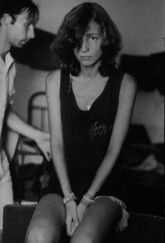 Ольга Арефьева. Фото Артема Чернова. 1993 г.