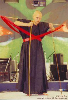 """KALIMBA на фестивале ETHNOLIFE 28-31 июля 2005  - выступления с группой """"Ковчег"""" и отдельно. Фото: П.Каргаленкова"""