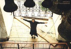 Дивеево, сентябрь 1997, фото сделано Ольгой Арефьевой при помощи знакомой