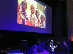 Ольга Арефьева и «Ковчег». Фотографии с акустического концерта в ЦДХ - презентации DVD KALIMBA 25 марта 2006. Фото Goldy