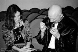Ольга Арефьева и «Ковчег». Москва, Goldenmask.Club, 31 марта 2006. Фото Полины Каргаленковой