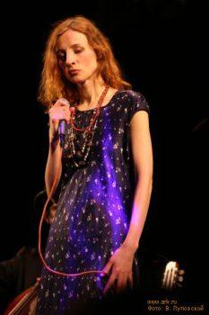 Ольга Арефьева и «Ковчег». Москва, Goldenmask.Club, 31 марта 2006Фото Владимира Луповского