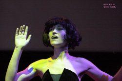 Ольга Арефьева и «Ковчег». Фотографии с акустического концерта в ЦДХ 18 июня 2006. Фото Goldy