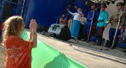 Ольга Арефьева и «Ковчег». Фотографии с фестиваля ETHNOLAND 14-16 июля 2006. Фото c http://zahmuh.livejournal.com