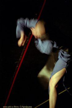 Фото Ольги Арефьевой. Импровизации в рамках фестиваля «Вертикаль» в Петербурге в сентябре 2006