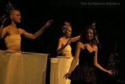 KALIMBA на мастер-классах фестиваля VERTICAL_2007: БУТО relations (Питер, 23-25 марта 2007). Фото: Екатерина Белякова