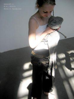 "Фотографии с репетиций ""KALIMBA"" в Музее Сахарова. Февраль-март 2007. Фото Ольга Арефьева"