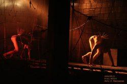 """Фотографии со спектакля """"Орфей"""" в театре PAG&ARM 19 апреля 2007. Фото: Ольга Максимова"""