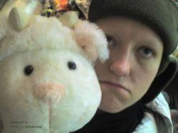 Я и овца (в магазине игрушек) Фото: Ольга Арефьева