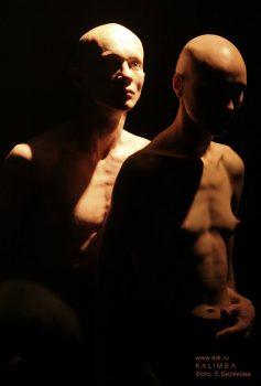 """Фотографии со спектакля """"Орфей"""" в театре PAG&ARM 7 июня 2007. Фото: Екатерина Белякова"""