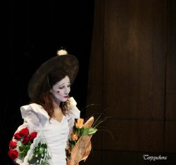 Ольга Арефьева и «Ковчег». Фото с концерта акустики в ЦДХ 21 сентября 2007. Фото Терпсихоры