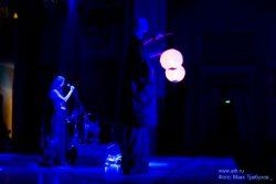 Ольга Арефьева и «Ковчег». Фото с акустического концерта в Киеве (Дом офицеров) 8 марта 2008. Фото Макса Требухова, сайт Киевский Рок-клуб