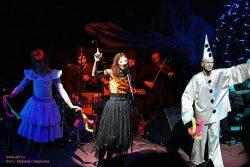 Ольга Арефьева и «Ковчег». Фотографии с акустического концерта в ЦДХ (Москва) 28 декабря 2008. Фото Марины Самохиной