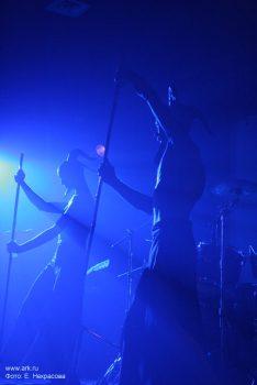 Ольга Арефьева и «Ковчег». Фотографии с электрического концерта в клубе «Plan B» (Москва) 3 октября 2008. Фото Екатерины Некрасовой