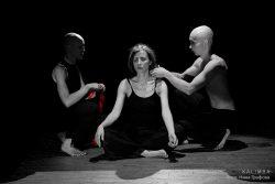 """Фотографии со спектакля """"Белковый ангел"""" (декабрь 2008). Фото: Нина Графова"""
