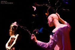 Ольга Арефьева и «Ковчег». Фотографии с акустического концерта в ЦДХ (Москва) 25 января 2009. Фото Нины Графовой