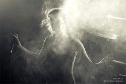 Ольга Арефьева и «Ковчег». Фотографии с концерта «Старые регги-хиты» в клубе «Plan B» (Москва) 13 февраля 2009. Фото Нины Графовой