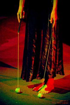 """Ольга Арефьева и «Ковчег». Фотографии и зарисовки с представления """"Рояль-Ковчега"""" 29 марта 2009 в ЦДХ (Москва). Фото Нины Графовой"""