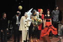 Ольга Арефьева и «Ковчег». Фотографии с акустического концерта в ЦДХ (Москва) 26 сентября 2009. Фото Zillo
