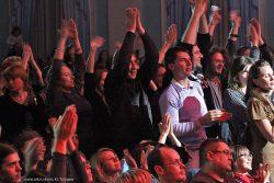 Ольга Арефьева и «Ковчег». Фотографии с электрического концерта в Киеве 5 ноября 2011. Фото Юрия Тугушева