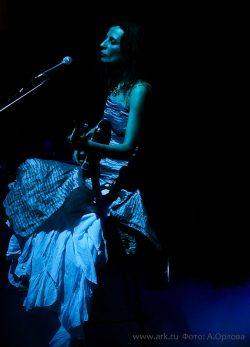 Ольга Арефьева и Ковчег. Фотографии с акустического концерта в ЦДХ (Москва) 29 января 2012.  Фото Фото Анны Орловой